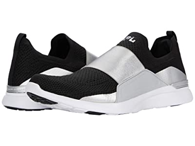 Athletic Propulsion Labs (APL) Techloom Bliss (Black/Reflective Silver/White) Men