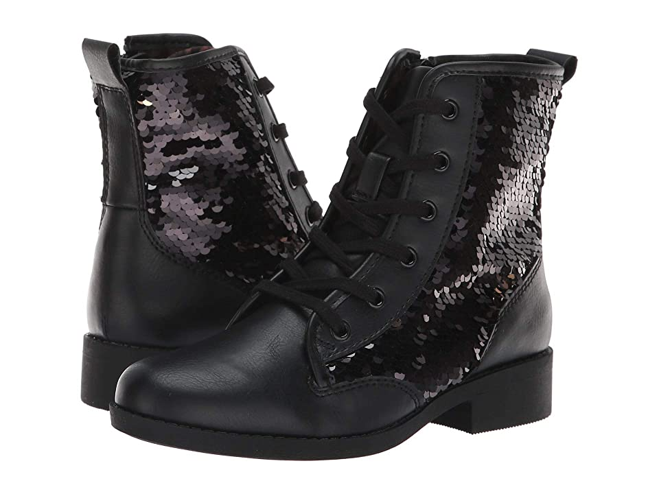Steve Madden Kids Jregal (Little Kid/Big Kid) (Black Multi) Girls Shoes