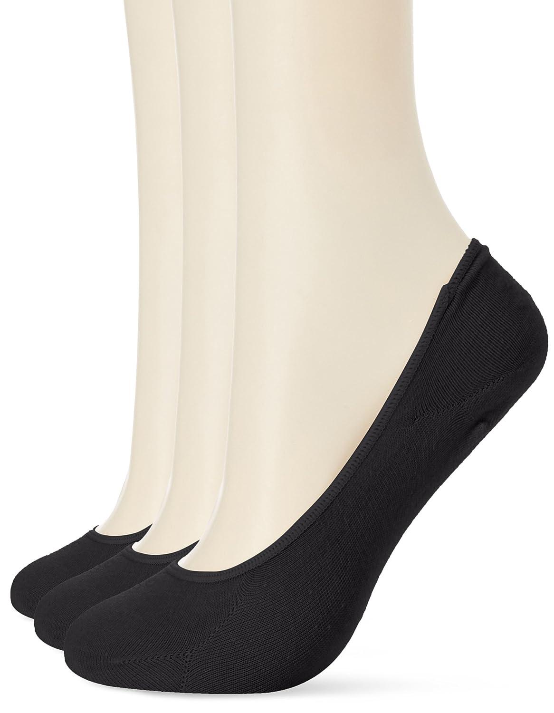 [セシール] 履き口ゆったり涼しげルミー調ソックス(3足組セット) SP-368 レディース