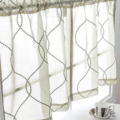 Curtain for Kitchen Windows: Amazon.com