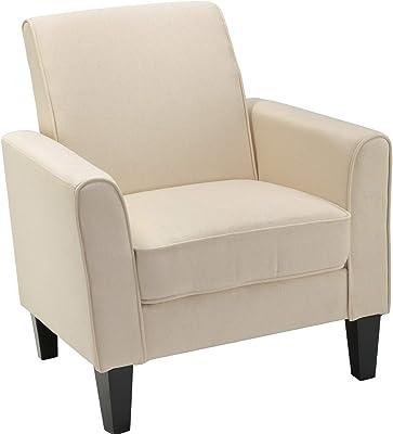 Amazon.com: Hebel Accent Chair, Wembley Pecan | Model ...