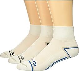 Hiker Quarter 3-Pack Socks