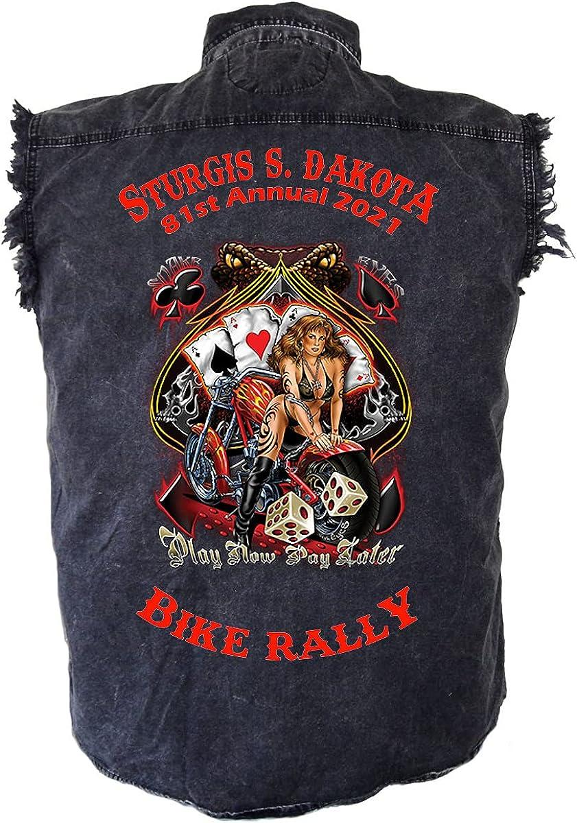 Leather Supreme Mens Sturgis Branded goods Bike Rally shopping 2021 Snake Den Eyes Babe