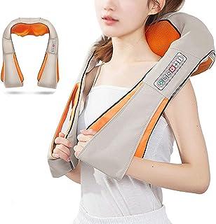 HGJDKSJ Masajeador Cuello y Espalda, Manta Electrica Espalda y Cuello, Espalda, Cintura, Piernas, Hombros, Se Puede Utilizar en el Hogar, el Automóvil, La Oficina