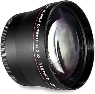 52MM 2.2X Telephoto Lens  for Nikon D7100 D7000 D5500 D5300 D5200 D5100 D3300 D3200 D3100 D3000 D3 D300 DF D800 D800E DSLR Cameras