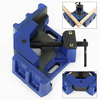 Tornillo de banco angular de 100 mm de ancho de mordaza lateral de sujeción de inglete