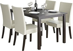 CorLiving Atwood Dining Set, Cream