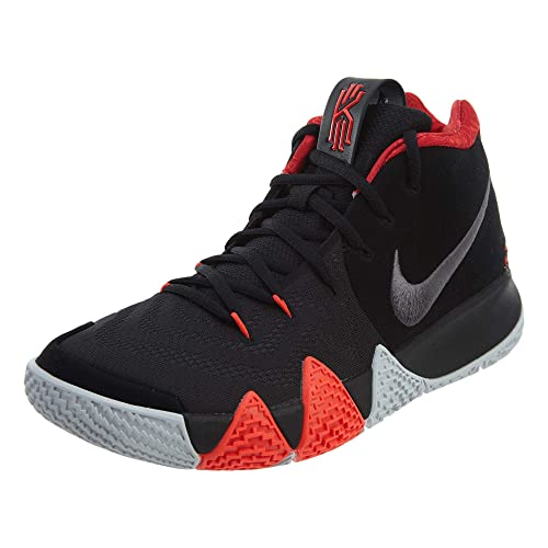 e79f40aff94f Nike Men s Kyrie 4 Basketball Shoes (10 D US) Black Dark Grey
