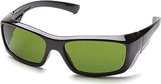 Pyramex Emerge Safety Glasses, Black Frame, 3.0 IR Filter Lens