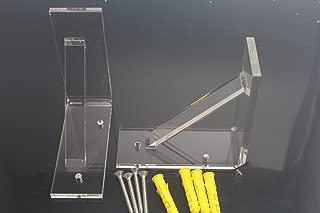 Sparik Enjoy Wall Mounting Brackets for LED Liquor Shelf-4 Pack (4 Pcs)