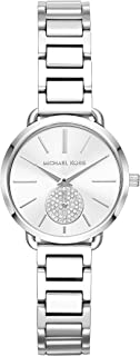 Michael Kors Portia Women's Silver Dial Stainless Steel Band Watch - MK3837