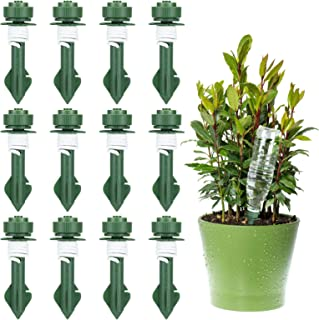 R/églable Arroseurs Automatiques Plantes avec vannes Syst/ème Dirrigation de R/égulation Dispositifs Contr/ôlables pour Jardin Maison Int/érieur Ext/érieur HUG GREEN 12 Pcs Irrigation Goutte /à Goutte Kit
