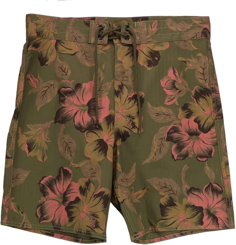 Ralph Lauren Men's Military Floral Cotton Short