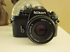 Nikon Em 35mm Film Camera SLR Body W/lens 50mm
