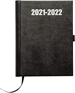 $24 » Sponsored Ad - Delane Premium Weekly Planner 2021-2022 - Vegan Leather Bound Hourly Appointment Book – Schedule Your Schoo...