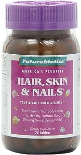 Futurebiotics Hair, Skin, & Nails Beauty Multivitamin, 75 Tablets