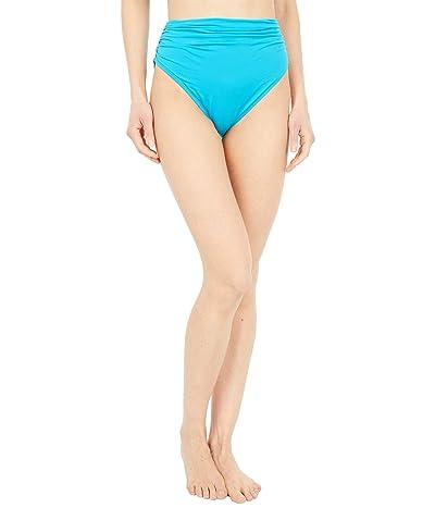 Carmen Marc Valvo Classic Shirred Waist Bikini Bottoms