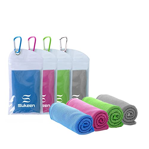 14d2ea01fa137 [4 Pack] Cooling Towel (40