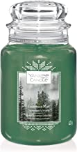 Yankee Candle Evergreen Mist Geurkaars, in Glas, Groot, Alpine Christmas Collection