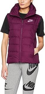 Nike Womens Down Filled Vest Bordeaux/Port Wine/Pink Nebula 854857-609 Size X-Small