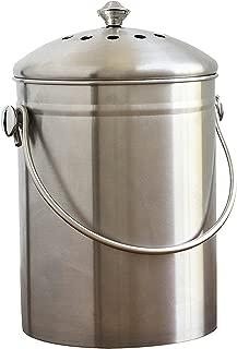 Natural Home WP77 SS Compost Bin /1.3 gallon