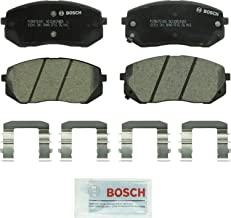 Bosch BC1295 QuietCast Premium Ceramic Disc Brake Pad Set For Hyundai: 2015 Sonata, 2010-2015 Tucson; Kia: 2014-2016 Cadenza, 2007-2012 Rondo, 2015-2017 Soul EV, 2011-2016 Sportage; Front