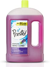 Amazon Brand - Presto! Disinfectant Floor Cleaner Lavender, 2 L