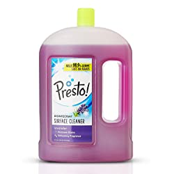 Amazon Brand - Presto! Disinfectant Surface Cleaner Lavender, 2 L