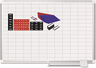 MasterVision Planning Board Magnetic Dry Erase 1
