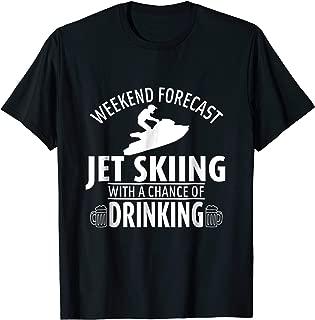 Jet Ski Funny T-Shirt - Weekend Forecast Shirts