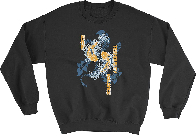 HARD EDGE DESIGN Sales Unisex Koi Tranquility Portland Mall Sweatshirt