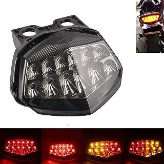 MZS Tail Light Turn Signal LED Integrated Blinker for Kawasaki Ninja 250R Ninja250R EX250 2008 2009 2010 2011 2012 Smoke