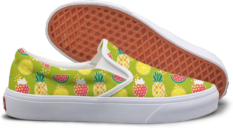 Pineapples Strawberries Watermelon Youth Sneakers Mesh