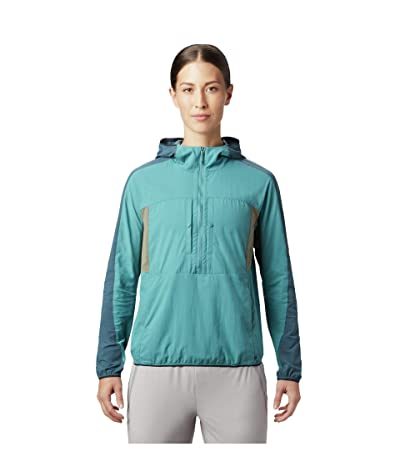 Mountain Hardwear Echo Laketm Hoodie (Washed Turquoise) Women