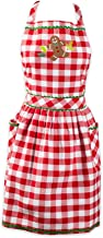 DII Holiday Kitchen Apron, One Size, Warm Gingerbread