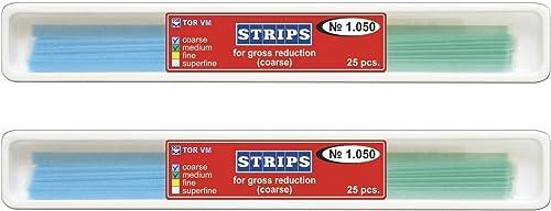 Zubastick Lot x 2 Dental Abrasive Strips for Gross Reduction
