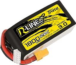 TATTU R-Line 1800mah 4S 120C FPV Lipo Battery with XT60 Plug for FPV Racing