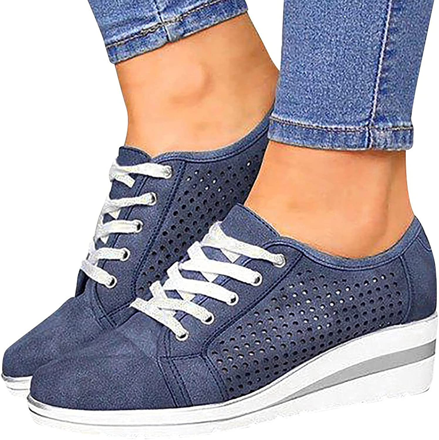 Slip On Sneakers High quality for Women Omaha Mall Wide Sh Shoes Walking Width