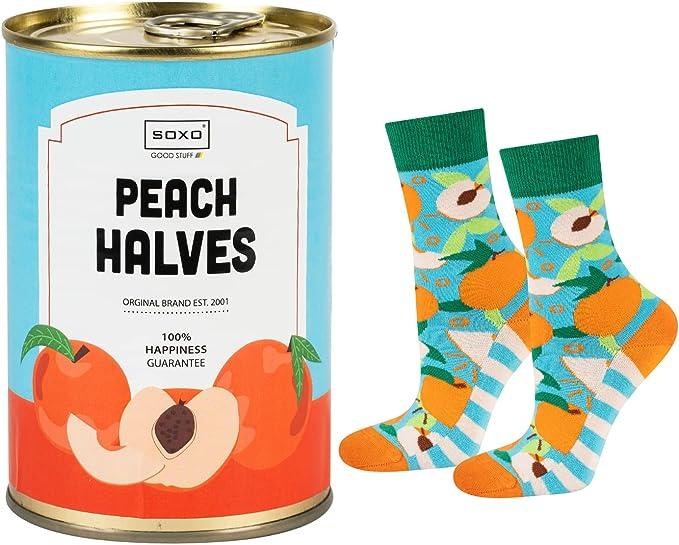 93 opinioni per soxo calze divertenti colorate  confezione ispirata alle scatolette  35-40 EU  