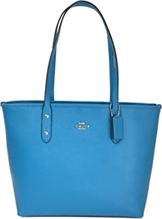 CITY ZIP TOTE, F58846, BRIGHT BLUE