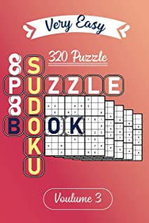 Very Easy Sudoku Puzzle book | 320 puzzle volume 3