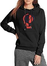 Pesxist96 Female Sweatshirt Funny Hoodies Travel Drawstring Sleeve ComfortSoft Pullover