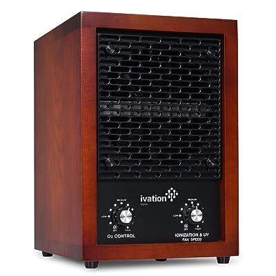 Ivation IVAOZAP04 HEPA Air Purifier & Ozone Generator, Ionizer & Deodorizer
