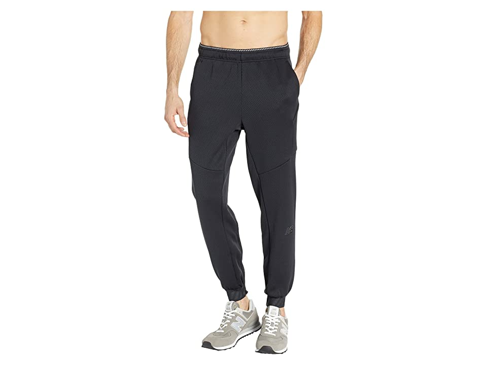 New Balance R.W.T. Double Knit Pants (Black) Men