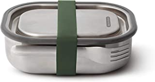 Black + Blum Stainless Steel Lunch Box - Olive