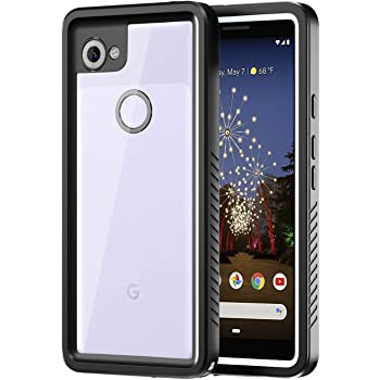 meritcase Google Pixel 3a Case, IP68 Waterproof Shockproof Dustproof Protective Phone Case Cover with Screen Protector for Google Pixel 3a 2019 Release