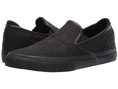 Emerica Wino G6 Slip-On (Black/Black) Men