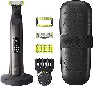 Philips OneBlade Pro Ansikte + Kropp - Kam med 14 längdinställningar - Kan användas på våt och torr hud - Digital LED disp...