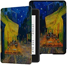 E4DEAL Case for Kindle Paperwhite(10th Generation-2018), Smart Shell Cover with Auto Sleep Wake Feature for Kindle Paperwhite 10th Gen 2018 Released(Coffee Shop)