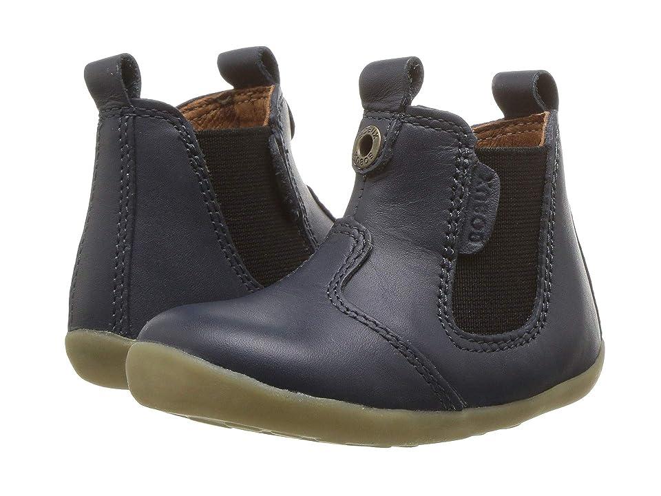 Bobux Kids Step Up Jodphur Boot (Infant/Toddler) (Navy 1) Kids Shoes